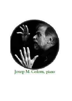 Josep Maria Colom, piano