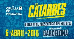 Cruïlla de Primavera: Els Catarres + Artista invitado