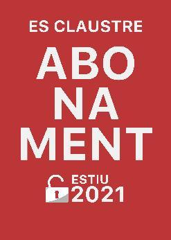ABONAMENT ESTIU 2021
