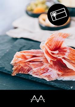 GIFT VOUCHER Iberian ham pairing visit