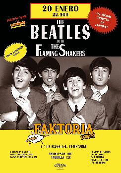 THE BEATLES AL FAKTO: THE FLAMING SHAKERS