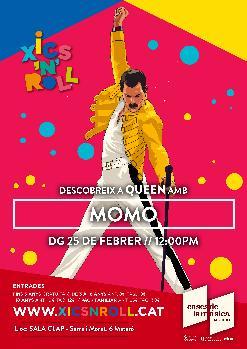 XICS'N'ROLL Descobreix a Queen amb MOMO | Sala Clap