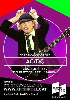 XICS'N'ROLL Descobreix a AC/DC amb SIN CITY | Sala Clap