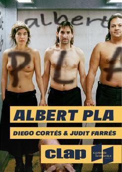 Albert Pla amb Diego Cortés i Judit Farrés | Clap Mataró