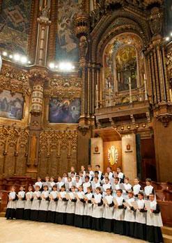 Escolania de Montserrat i Capella de Música de Montserrat