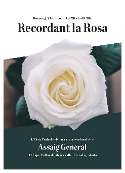 ASSAIG GENERAL. Recordant la Rosa