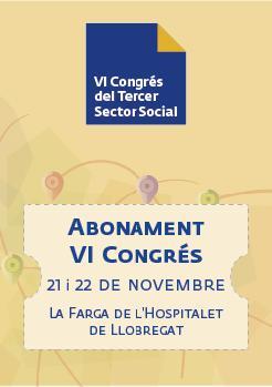 ABONAMENT- VI Congrés del Tercer Sector Social de Catalunya