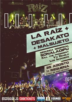 LA RAIZ+ DESAKATO+ MALSUJETO+ 2a SEMIFINAL SONALADIPU 2018 (KILL THE PRESIDENT+ YO DIABLO+ LOS INVADERS)