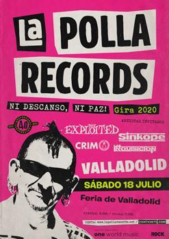 LA POLLA RECORDS + THE EXPLOITED + SINKOPE + CRIM + LA INQUISICIÓN