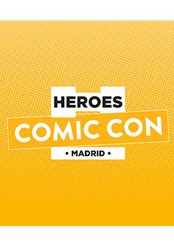 ENTRADA DE DÍA HEROES COMIC CON MADRID 2019