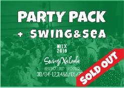 PACK Fiestas + La Mar de Swing
