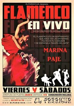 Flamenco: Marina Paje en El Paraigua