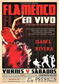 Flamenco: Isabel Rivera en El Paraigua