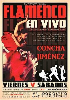 Flamenco: Concha Jiménez en El Paraigua
