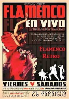Flamenco: Flamenco Retro en El Paraigua