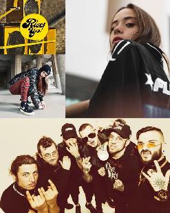 """SANTA SALUT + P.A.W.N GANG + """"Dones del Rap alcen la veu"""" + Rise Up Crew"""