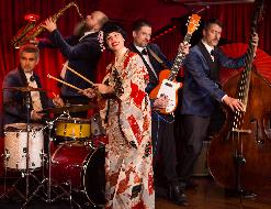 MYRIAM SWANSON & THE RHYTHM TREASURES + Corcs Drum&Organ