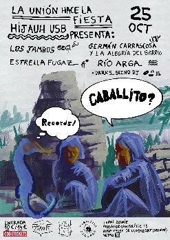 HIJAUH PRESENTA: CABALLITO RECORDS + BLACK ISLANDS