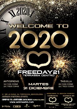 WELCOME TO 2020 FREEDAY21 TERRASSA CENTRO