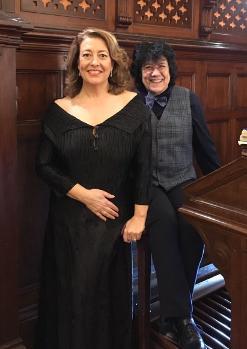 Loreto Fernández Imaz (orgue) i Ainhoa Zubillaga (mezzo soprano)