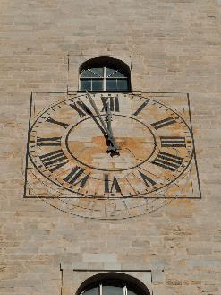 La mesura del temps a la Catedral de Girona