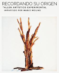 Taller artístico experimental RECORDANDO SU ORIGEN, impartido por Mario Molins
