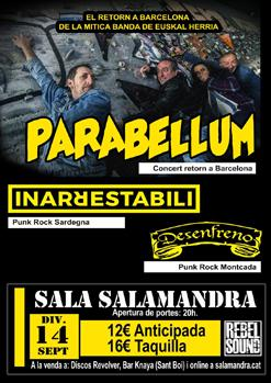 PARABELLUM + INARRESTABILI