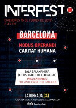 INTERFEST: MODUS OPERANDI + CARITAT HUMANA