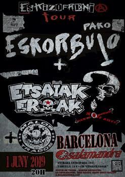 PAKO ESKORBUTO + ETSAIAKEROAK + MALOS TRAGOS