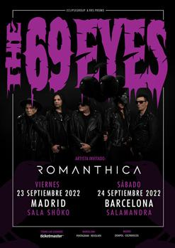 THE 69 EYES + ROMANTHICA