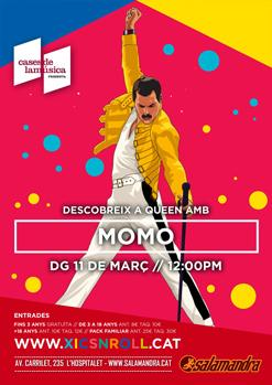 XICS'N'ROLL / Descobrint Queen amb MOMO