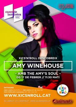 XICS'N'ROLL / Descobrint AMY WINEHOUSE amb THE AMY'S SOUL