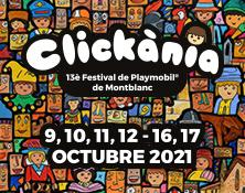 Clickània, Festival de Playmobil de Montblanc
