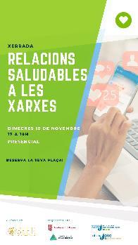 RELACIONS SALUDABLES A LES XARXES