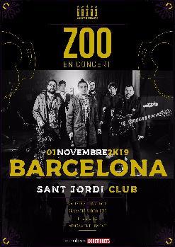 ZOO - BARCELONA, Sant Jordi Club
