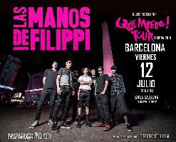 Las Manos de Filippi en Barcelona