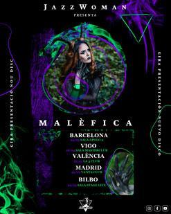 "JazzWoman + Kenna I en Madrid - Gira de Presentación del disco ""Malefica"""