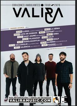 Concierto de Valira en Valladolid