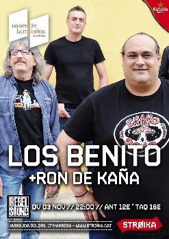 REBEL SOUND presenta LOS BENITO + RON DE KAÑA