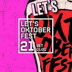 LET'S OKTOBERFEST amb DJ SHAKUR + BUFF BAY