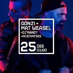 MAD SOUNDS presenta GONZI + MAT WEASEL + DJ RANDY + ACIDRATS23