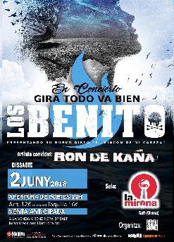 LOS BENITO + RON DE KAÑA