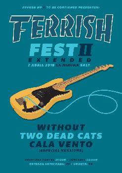 FERRISH II [EXTENDED] TWO THE CATS + CALA VENTO + WITHOUT