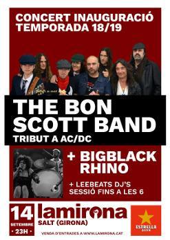 THE BON SCOTT BAND · BIGBLACK RHINO