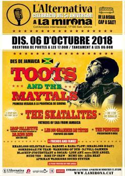 TOOTS and THE MAYTALS · The Skatalites i més! - 5è aniversari de L'Alternativa