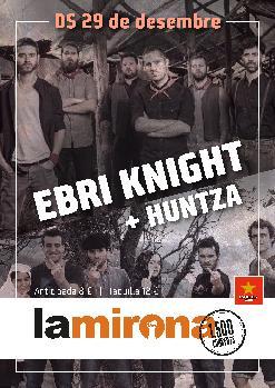 EBRI KNIGHT · HUNTZA