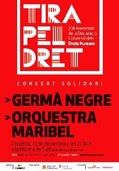 Concert Solidari: GERMÀ NEGRE · ORQUESTRA MARIBEL