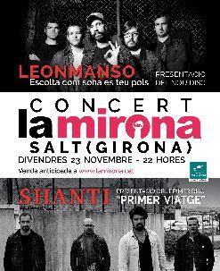 Nit Menorquina: LEONMANSO · SHANTI