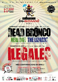 IN-SOMNI: DEAD BRONCO - NEW DAY - THE LIZARDS
