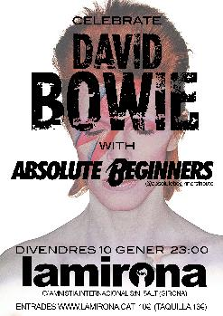 ABSOLUTE BEGINNERS - Tribut a David Bowie